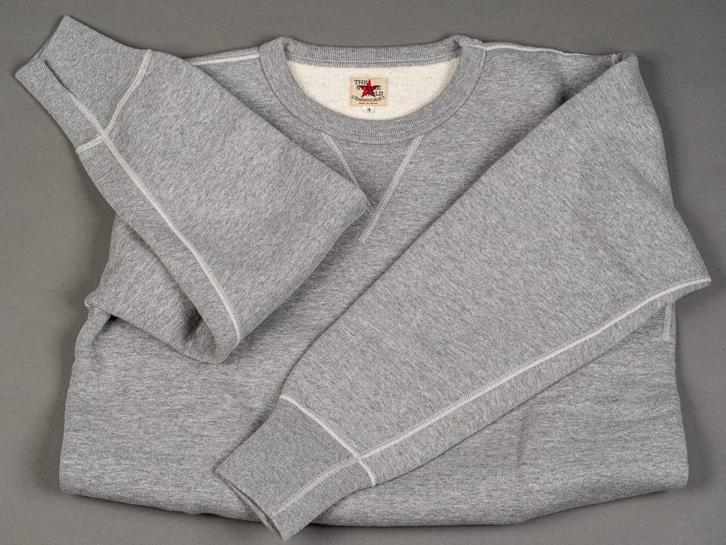 The Strike Gold Loopwheeled Sweatshirt Gray