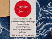 Studio D´Artisan 40th Anniversary Indigo Aloha Shirt red label