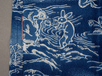 Studio D´Artisan 40th Anniversary Indigo Aloha Shirt rabbit