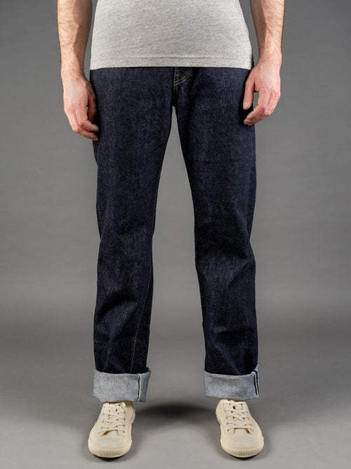 TCB S40´s 14oz Regular Straight Jeans selvedge fit