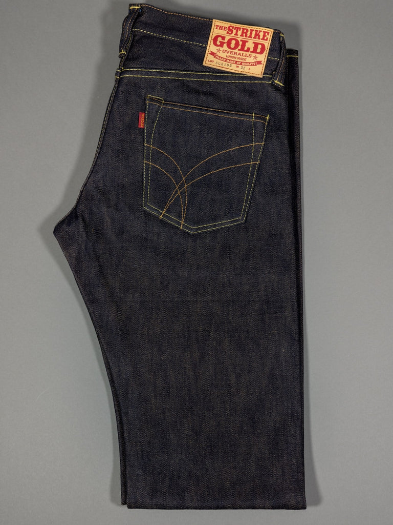 The Strike Gold 2109 Brown Weft Jeans
