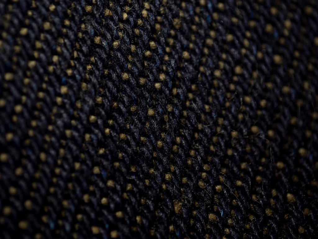 The Strike Gold 2109 Brown Weft Jeans indigo