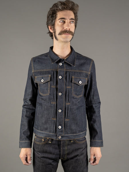 companion cone denim type 3 raw selvedge sanforized jacket