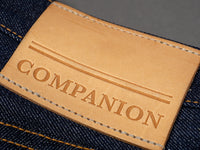 companion cone denim joel 01c leather patch