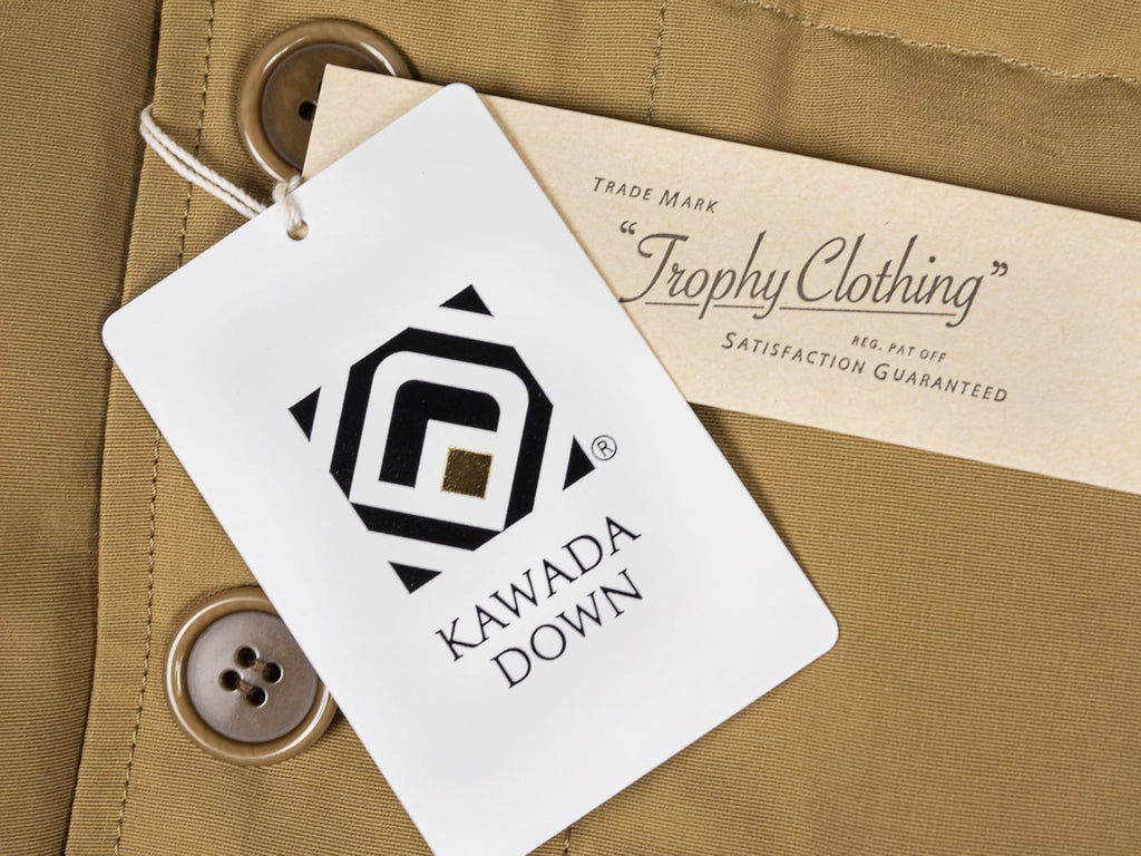 Trophy Clothing Alpine kawada certificated Down Coat