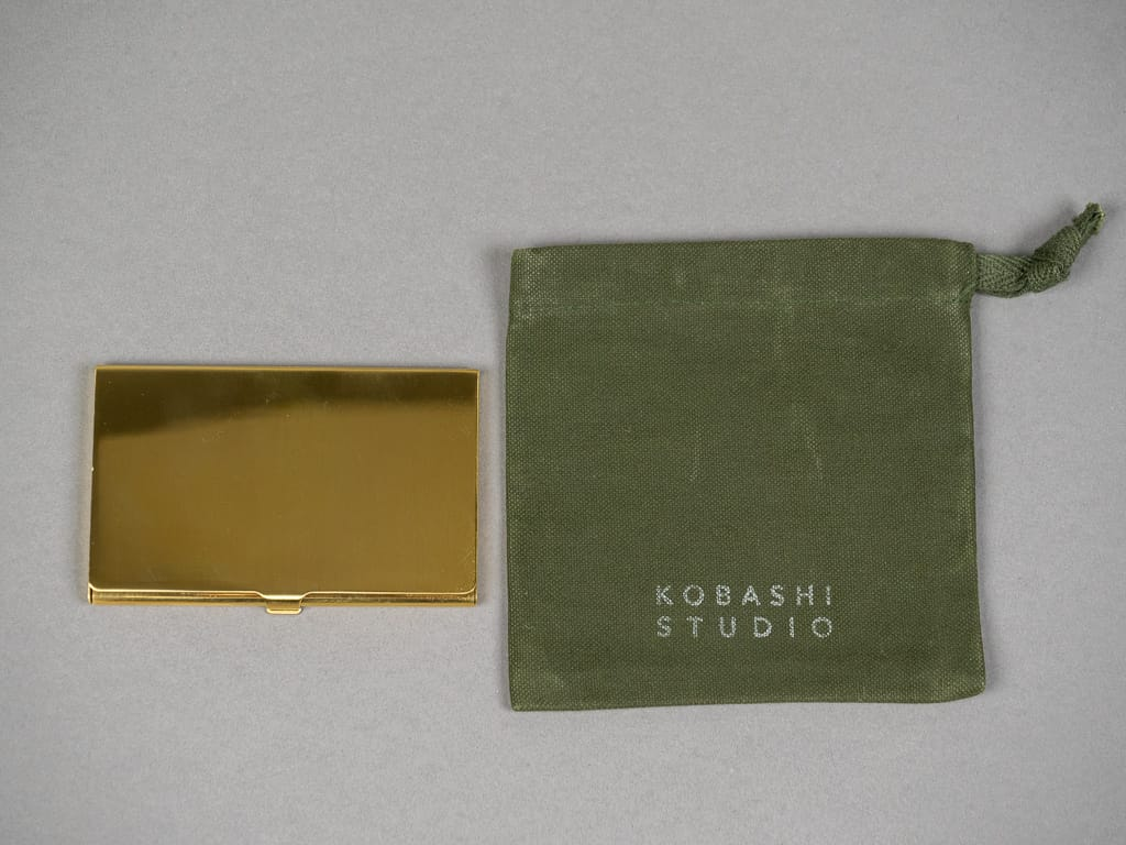 Kobashi Studio Card Case canvas bag