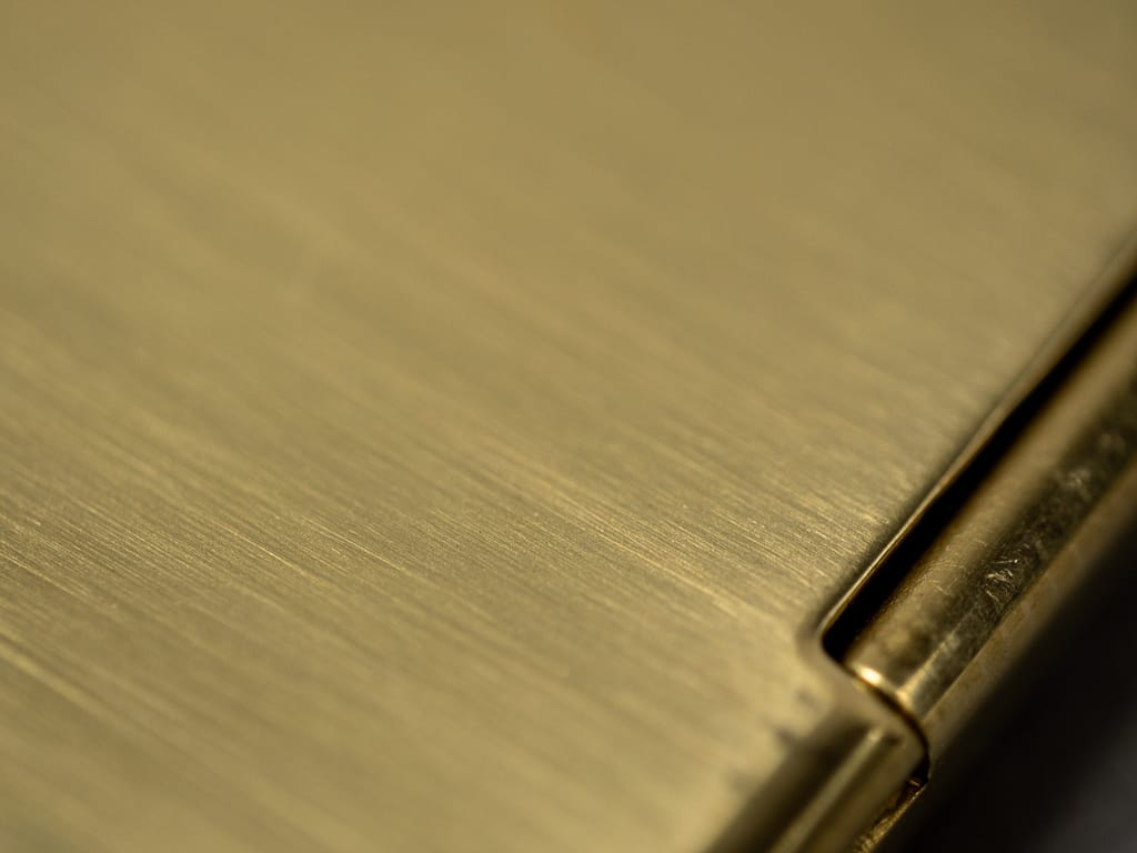Kobashi Studio Card Case polished brass