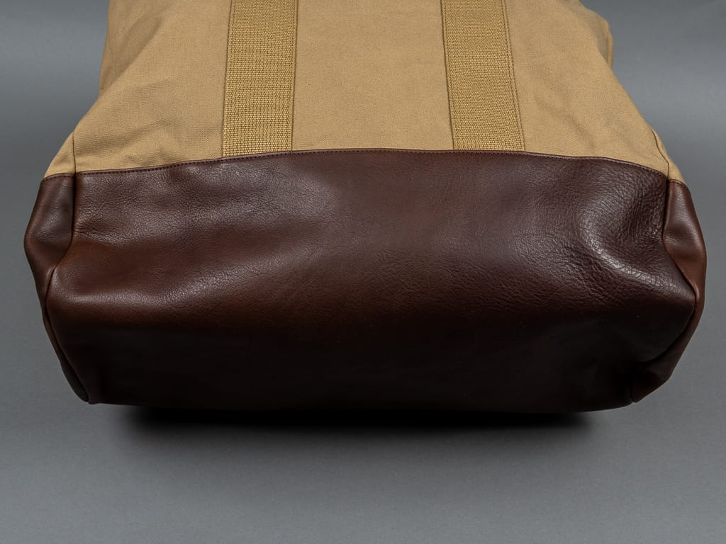 Muller & Bros. Harbor Bag leather bottom
