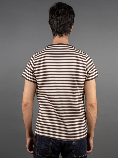 Muller & Bros. Border Tee stripes back