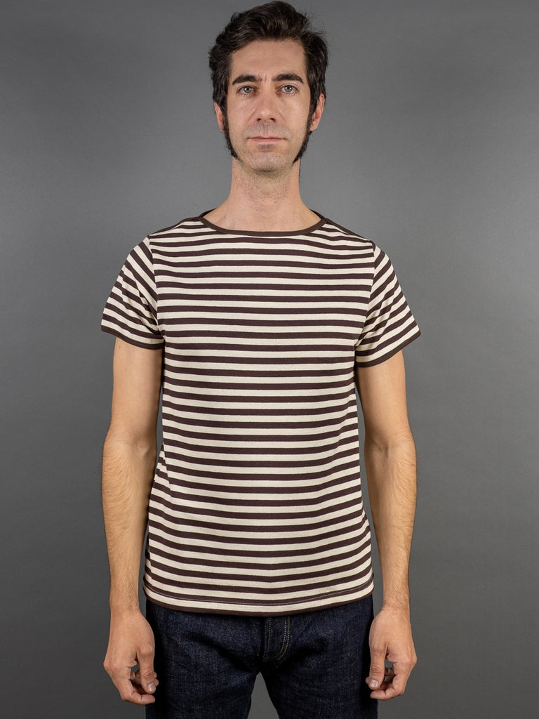 Muller & Bros. Border Tee stripes front