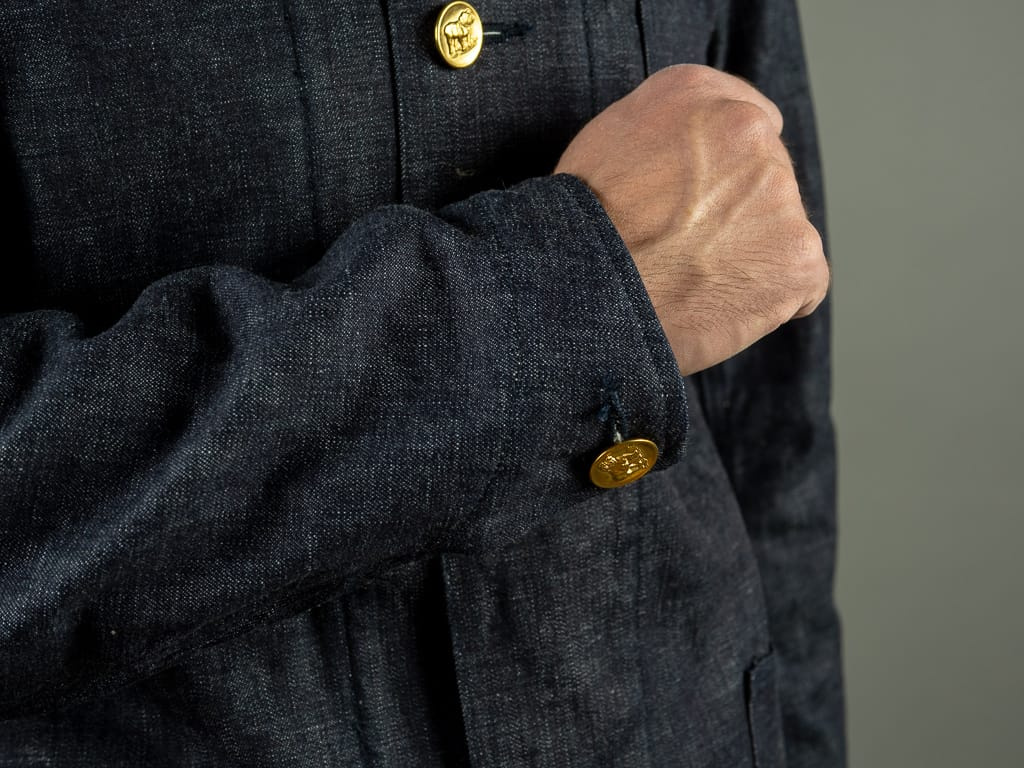 Muller & Bros. Bully coverall work Jacket cuffs