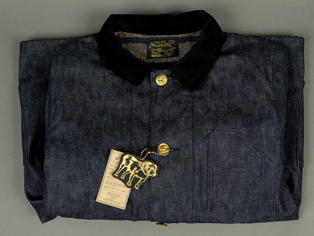 Muller & Bros. Bully Jacket front