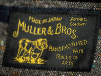 Muller & Bros. Bully coverall work Jacket label