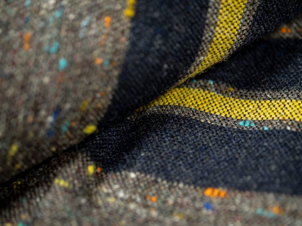 Muller & Bros. Bully Jacket sanforized wool interiorfabric