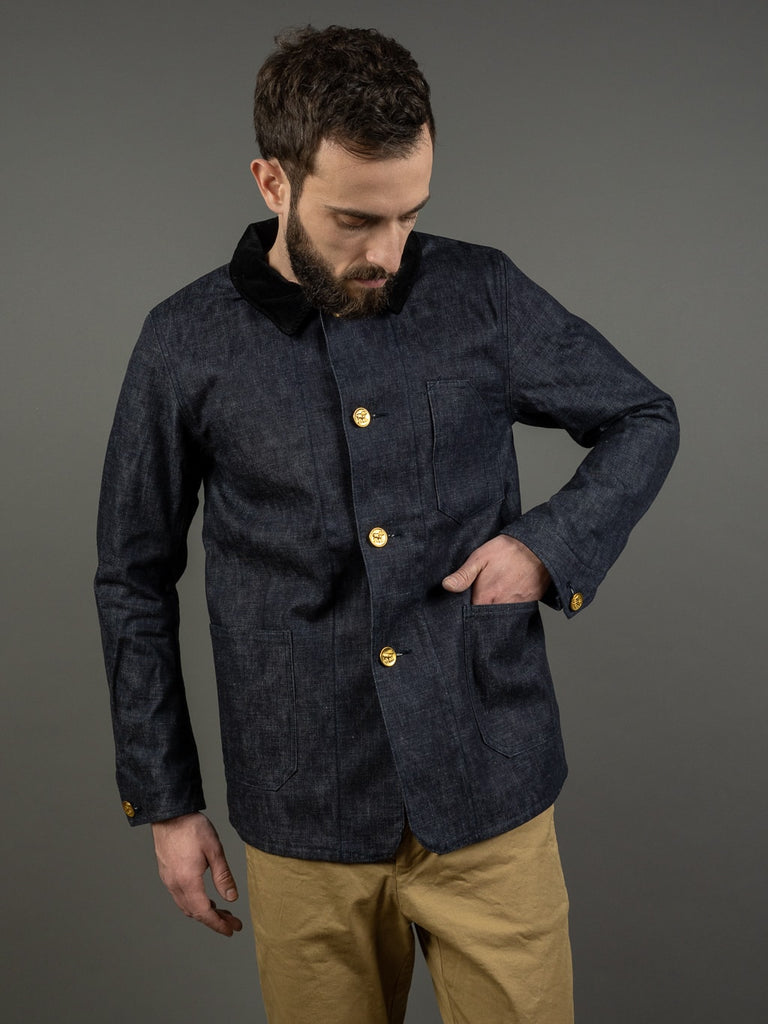Muller & Bros. Bully coverall work denim Jacket