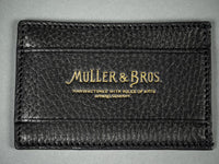Muller & Bros. Italian leather Card Holder