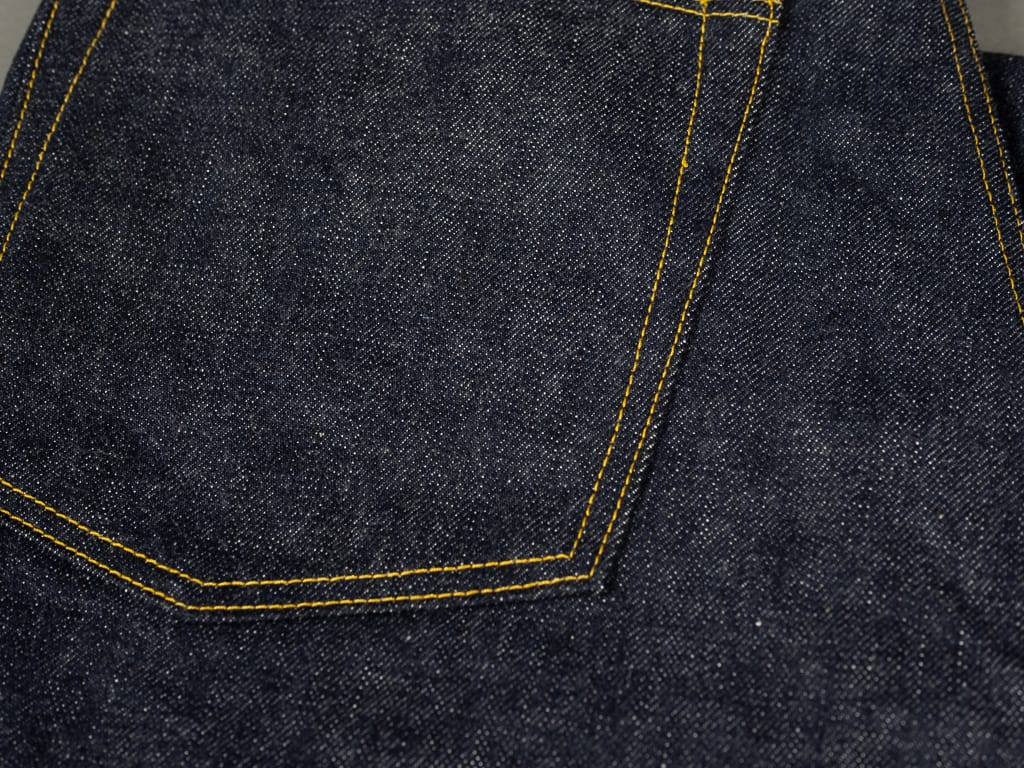 muller & bros. 542XX selvedge japanese denim jeans back pocket