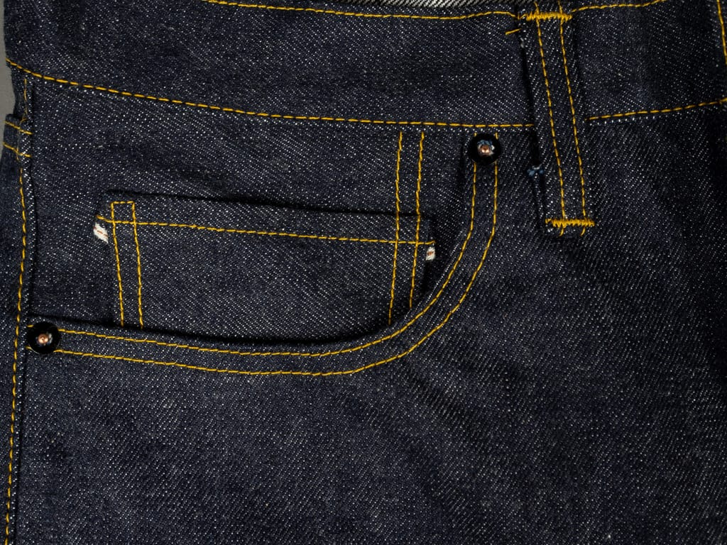 muller & bros. 542XX selvedge japanese denim jeans coin pocket