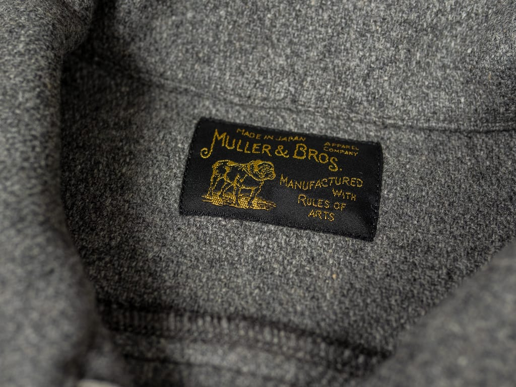 Muller & Bros. Sports american work Jacket label