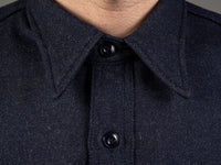 muller and bros wool syndicate work japanese shirt collar