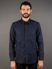 muller and bros wool syndicate work shirt front