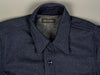 muller and bros wool syndicate work japanese shirt vintage collar