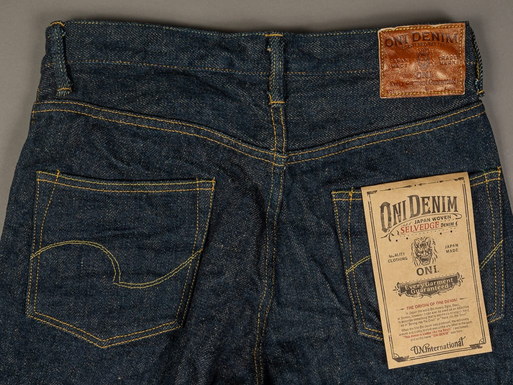 oni denim secret denim jeans high rise back pockets