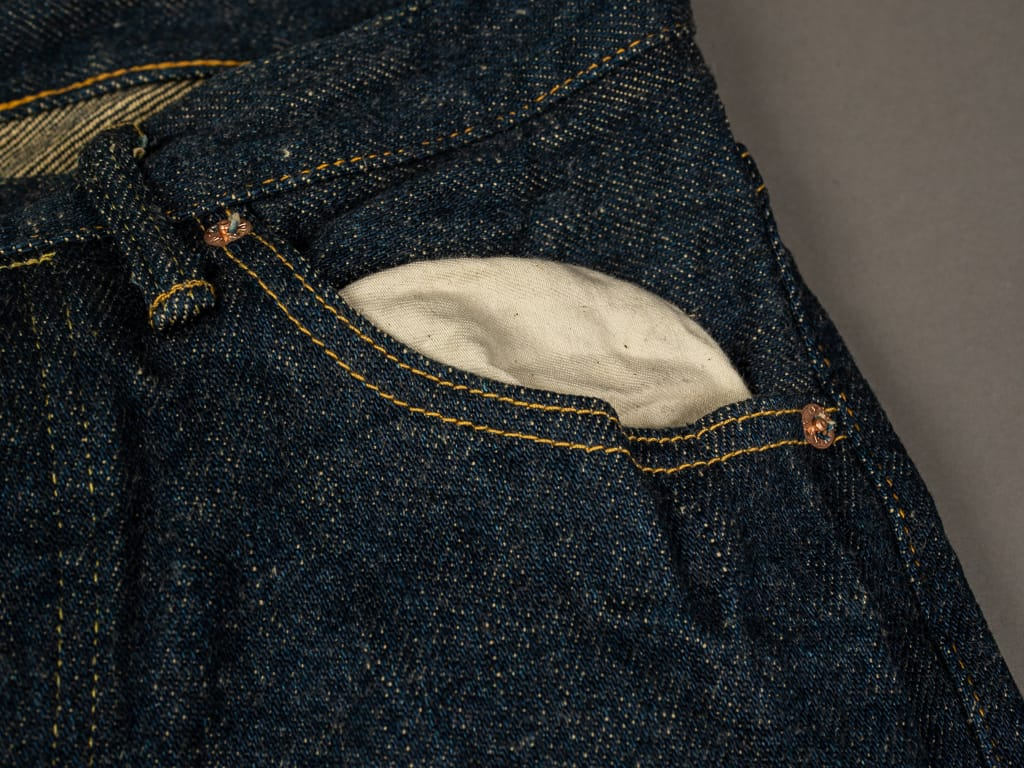 oni denim secret denim jeans pocket lining