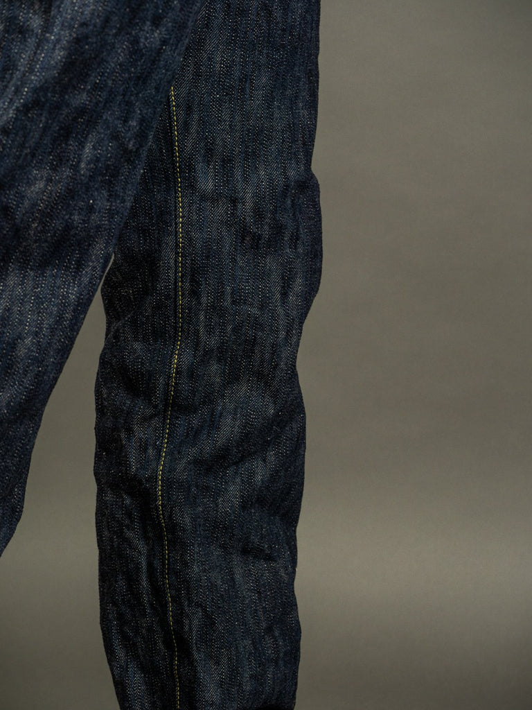 ONI Denim 245 Natural Indigo Kihannen Jeans inseam