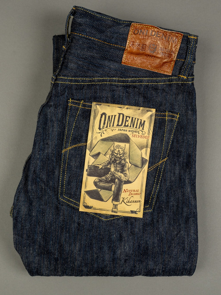 ONI Denim 245 Natural Indigo Kihannen Jeans regular straight fit
