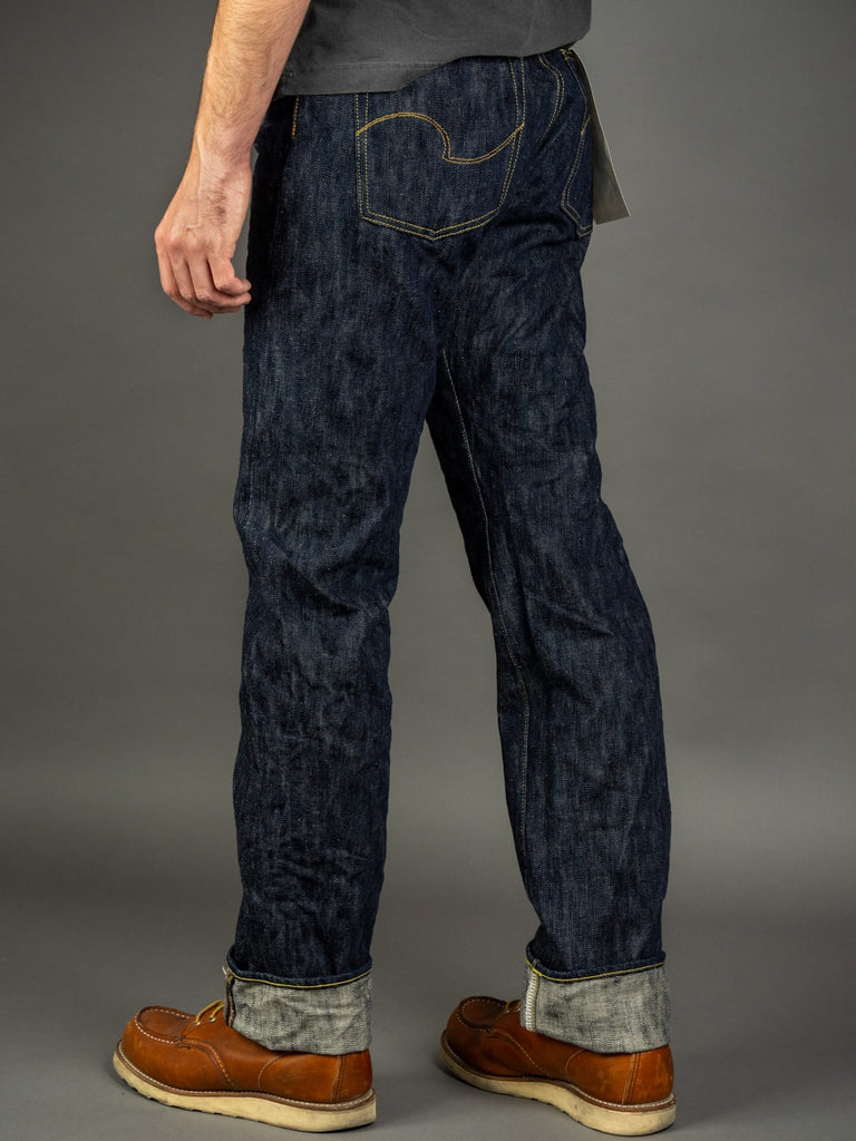 ONI Denim 245 Natural Indigo Kihannen Jeans regular straight