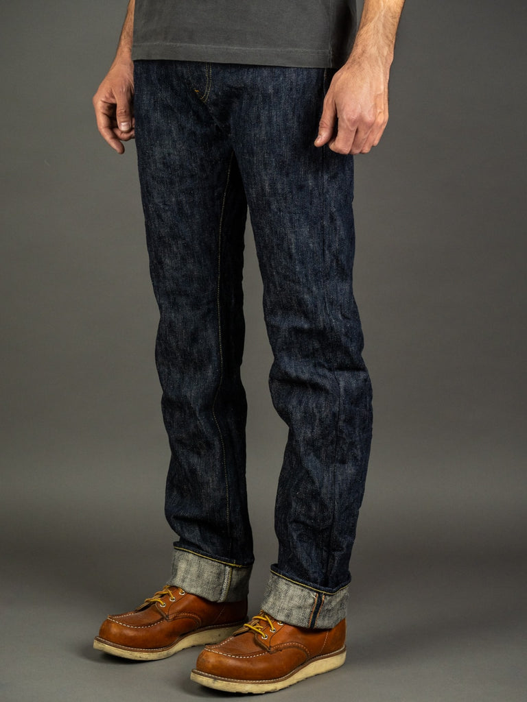 ONI Denim 245 Natural Indigo Kihannen Jeans side