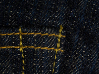 ONI Denim 245 Natural Indigo Kihannen Jeans stitching