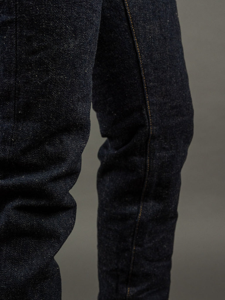 oni denim 622 red caliper jeans natural indigo inseam