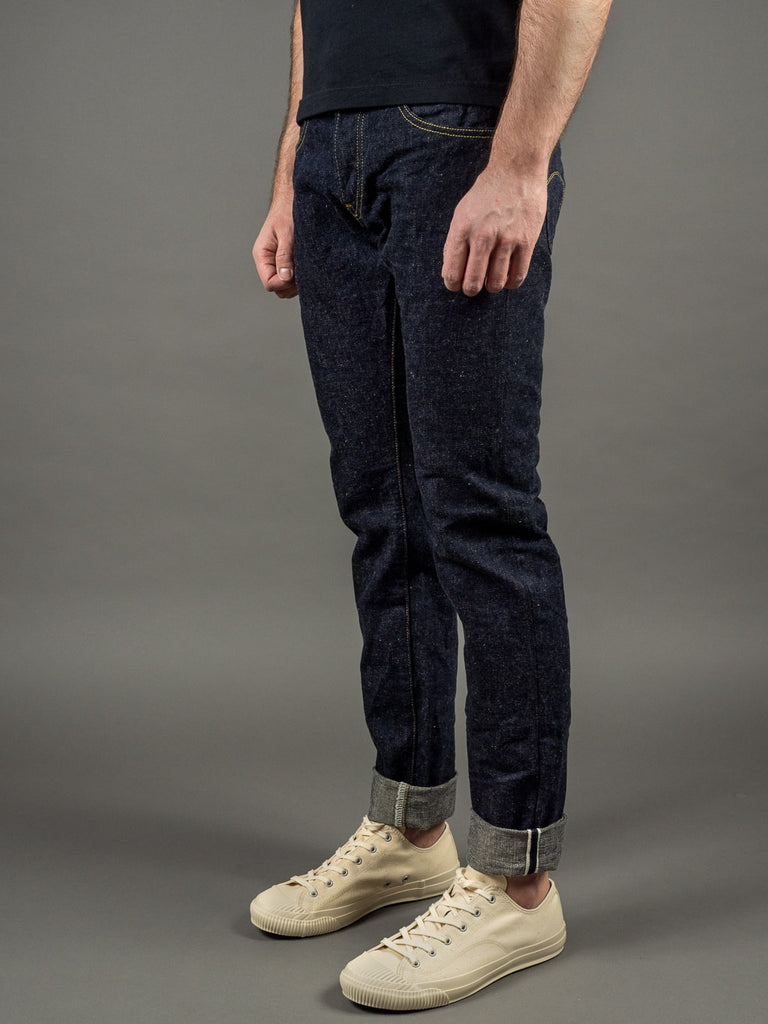 oni denim 622 red caliper jeans selvedge