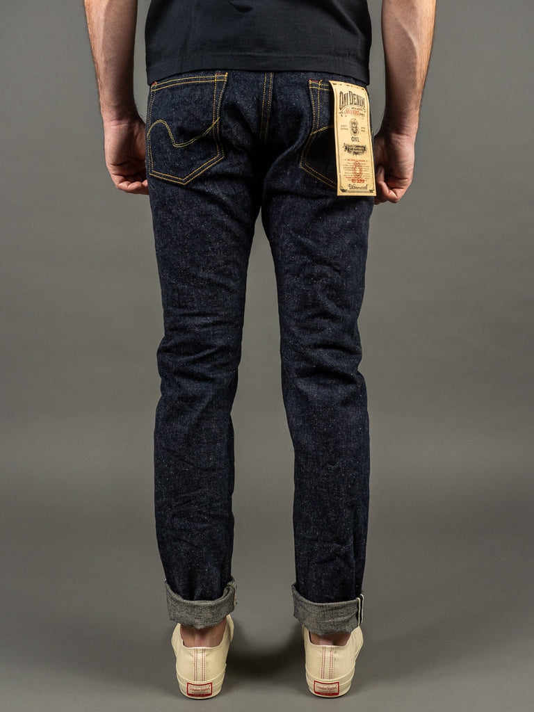 oni denim 622 red caliper jeans back