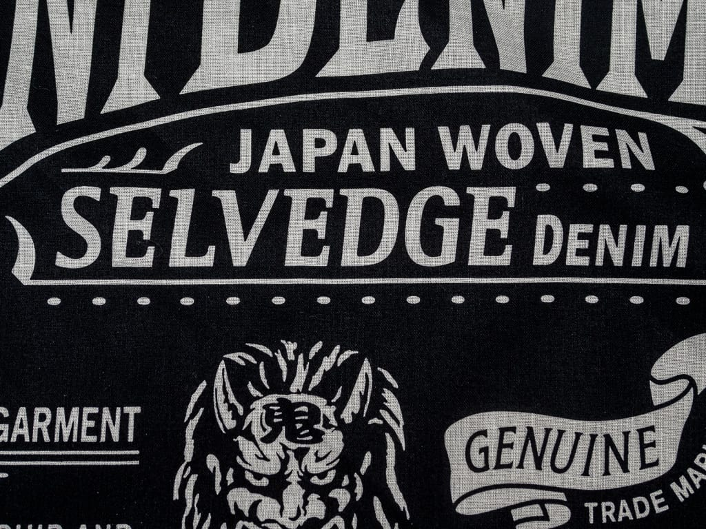 oni denim logo bandana black