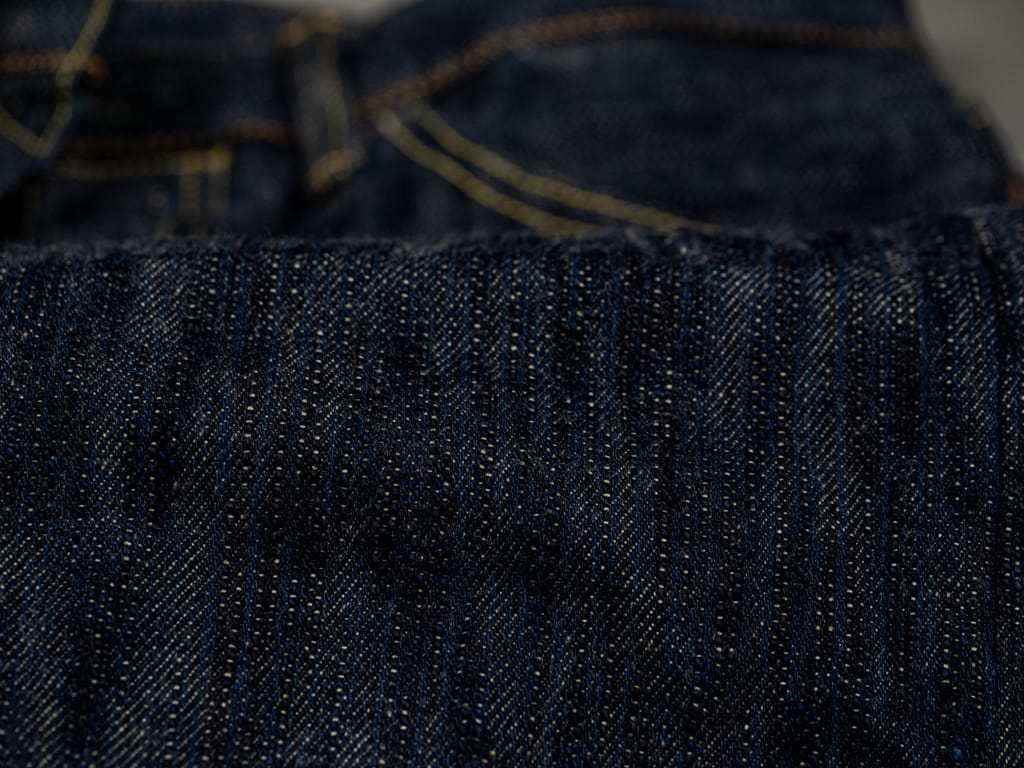 ONI Denim 245 Natural Indigo Kihannen Jeans fabric