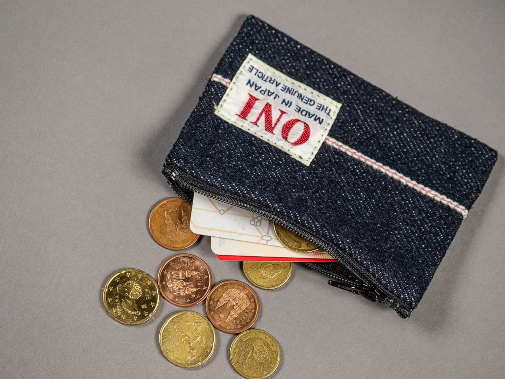 ONI Denim Selvedge Coin Pouch