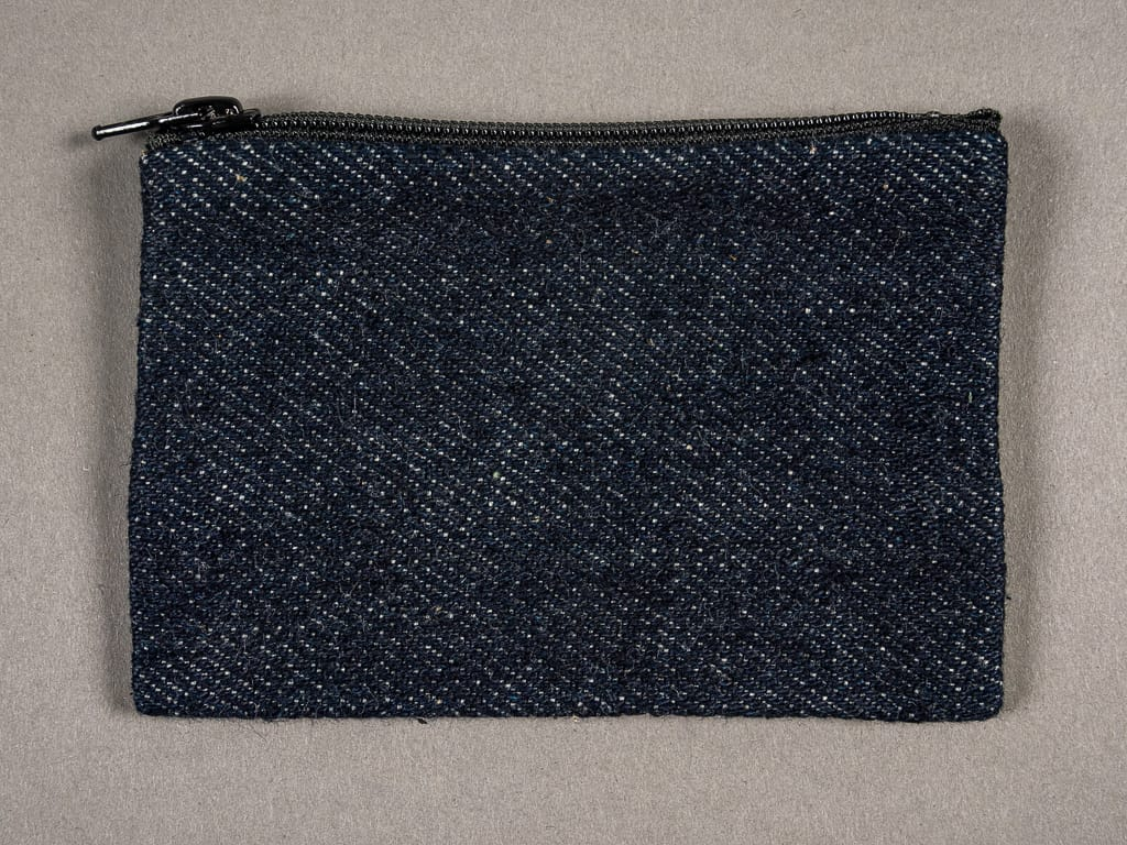 ONI Denim Selvedge Coin Pouch back
