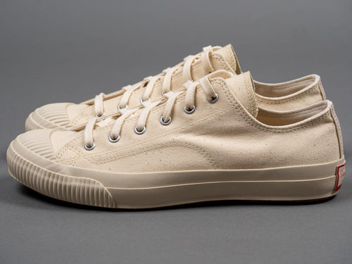 Pras Shellcap Low Sneakers Kinari/Off White vulcanized