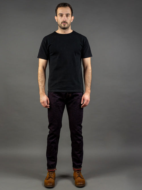 Studio D'Artisan D1820 Hinode 15oz Relaxed Tapered Jeans