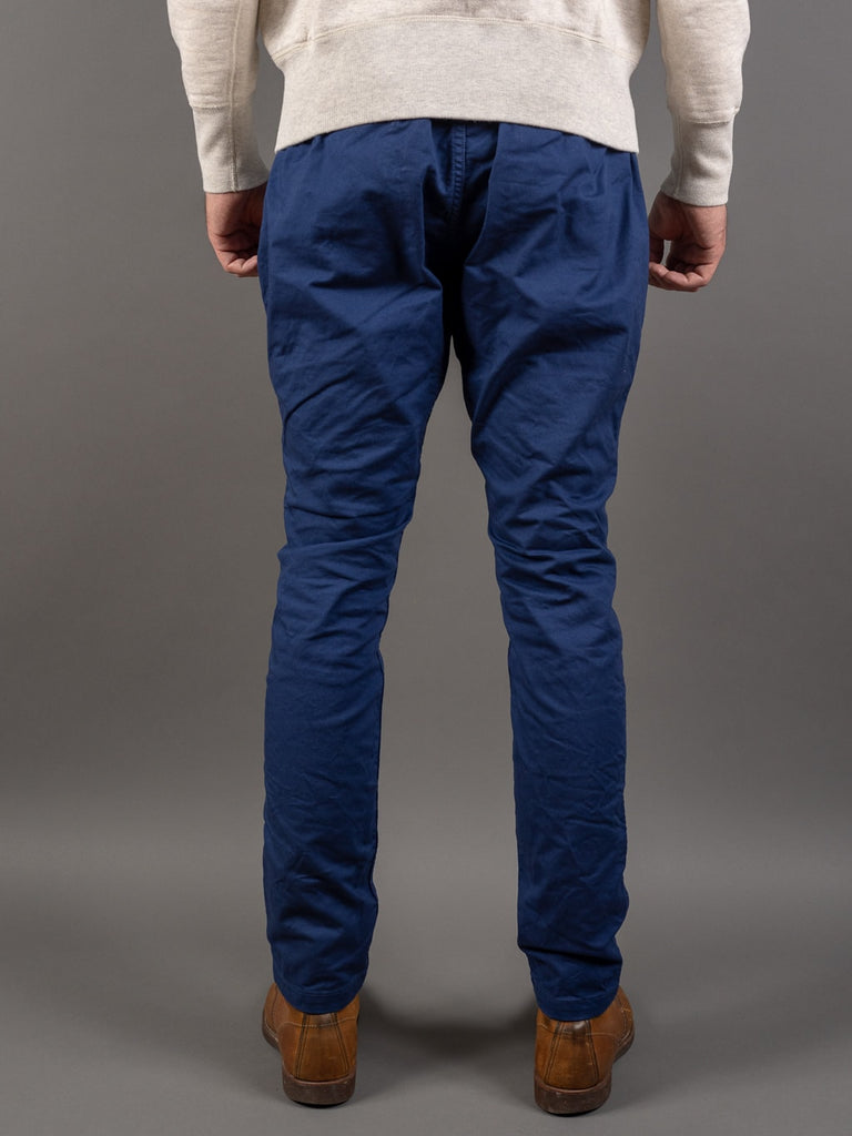 Spellbound 43-719Z Military Tapered Chinos Blue back