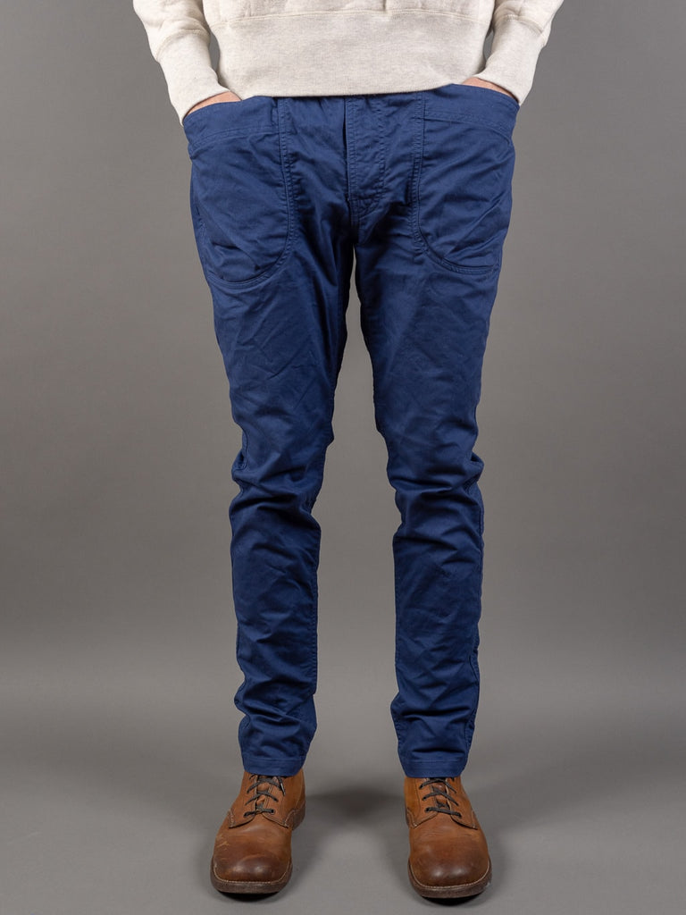 Spellbound 43-719Z Military Tapered Chinos Blue front pockets