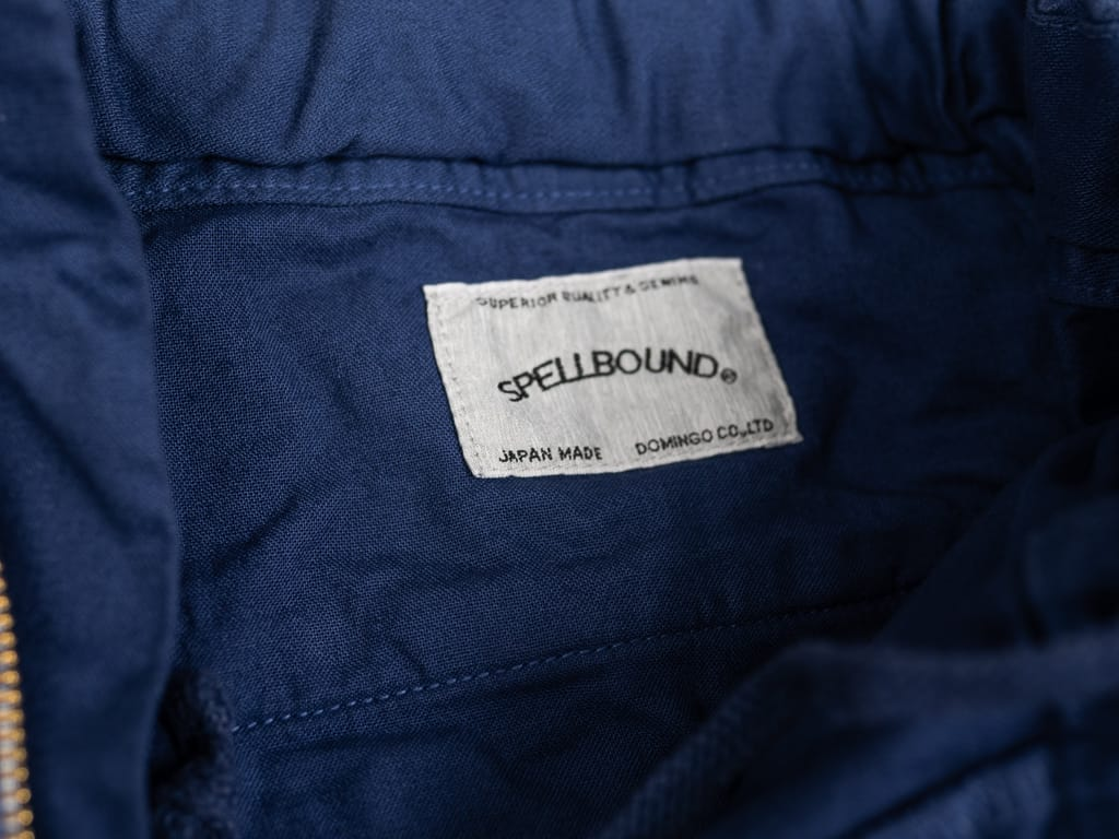Spellbound 43-719Z Military Tapered Chinos Blue interior label