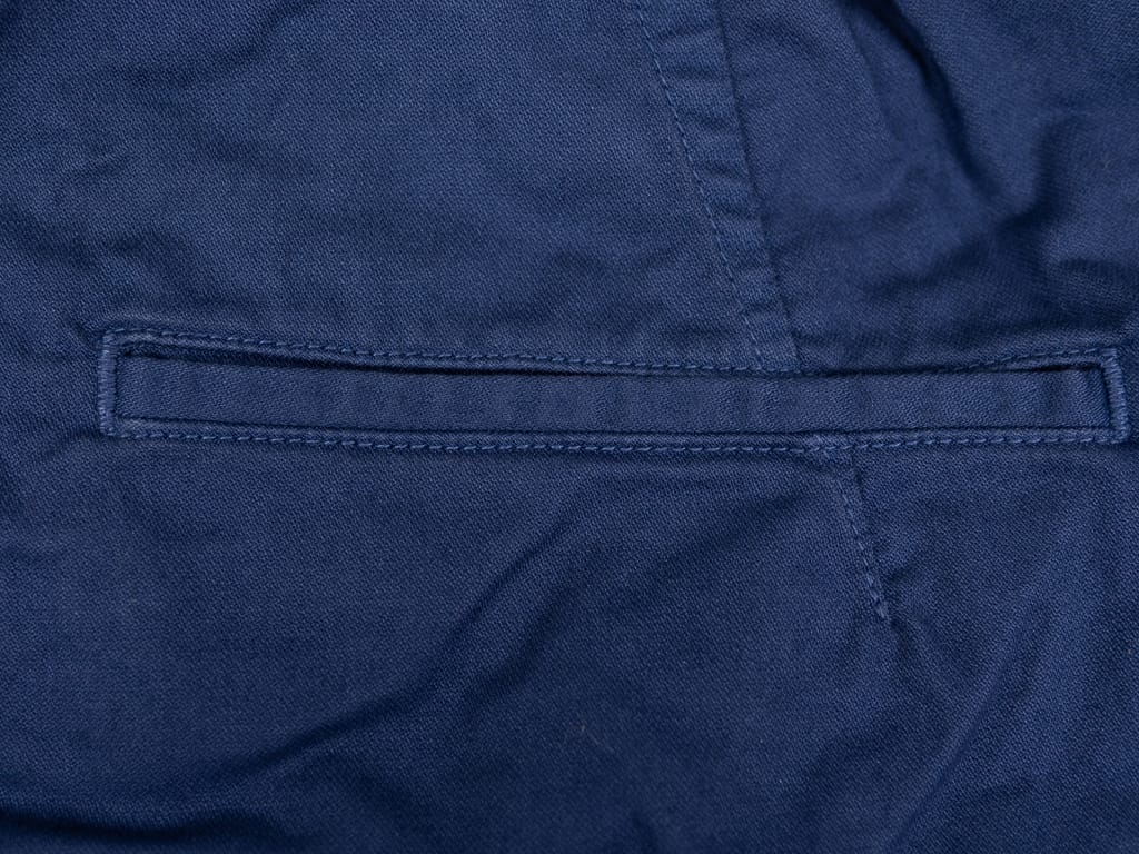 Spellbound 43-719Z Military Tapered Chinos Blue back pocket
