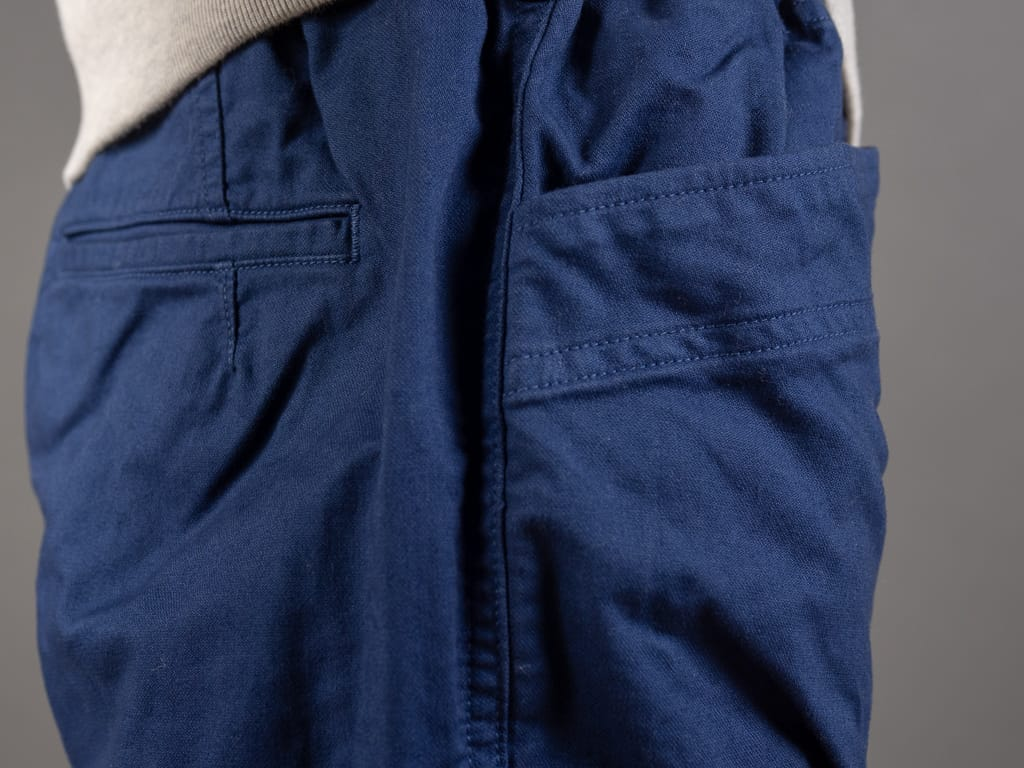 Spellbound 43-719Z Military Tapered Chinos Blue pockets