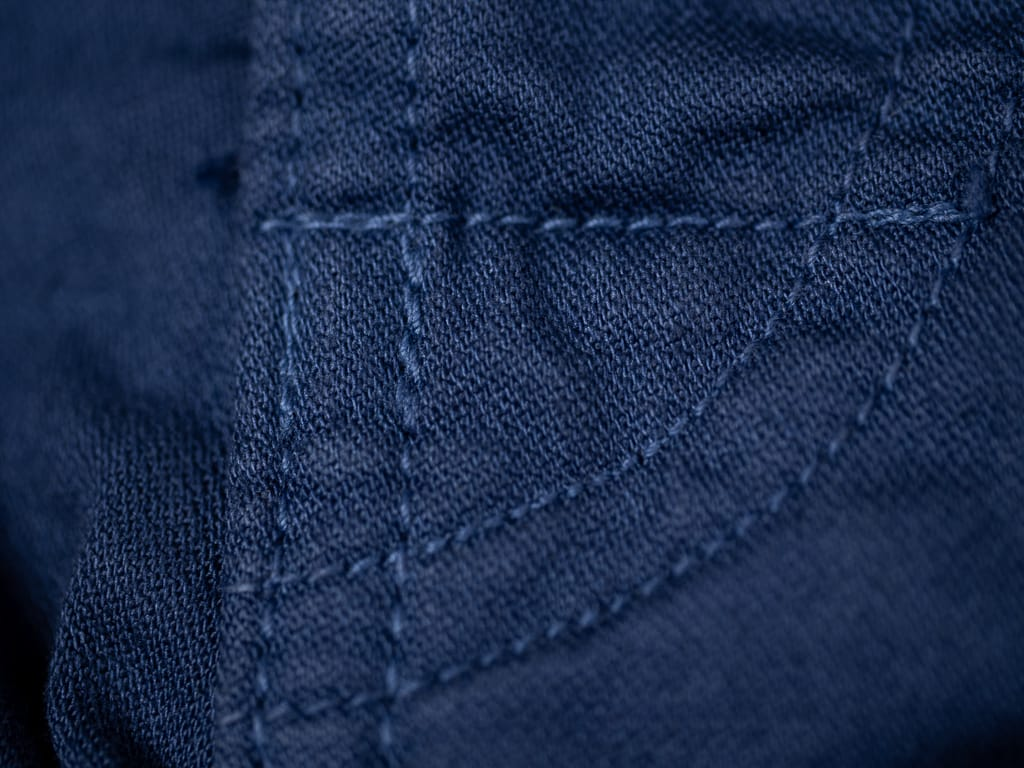 Spellbound 43-719Z Military Tapered Chinos Blue High-quality stitching
