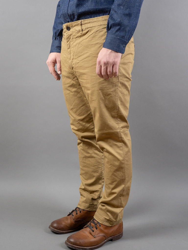 Spellbound 43-726T Tapered Chinos Camel side