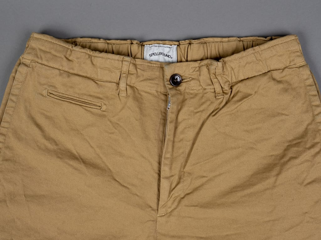 Spellbound 43-726T Tapered Chinos Camel front coin pocket